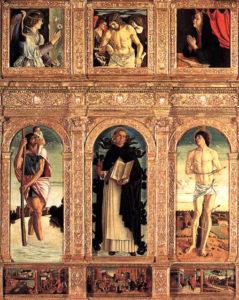 Polittico di San Vincenzo Ferrer di Giovanni Bellini