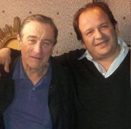 Robert De Niro e Francesco Di Silvio